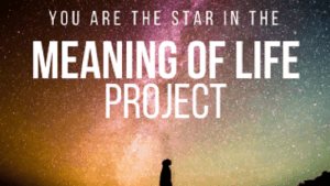 The Meaning of Life is Being in a Movie Image