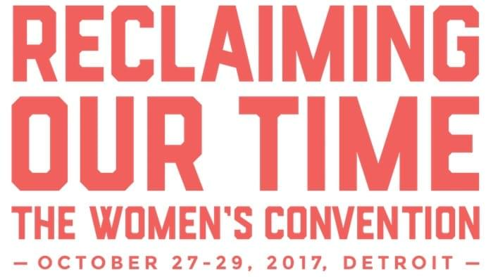 Rose McGowan Speaks at Detroit Women's Convention image