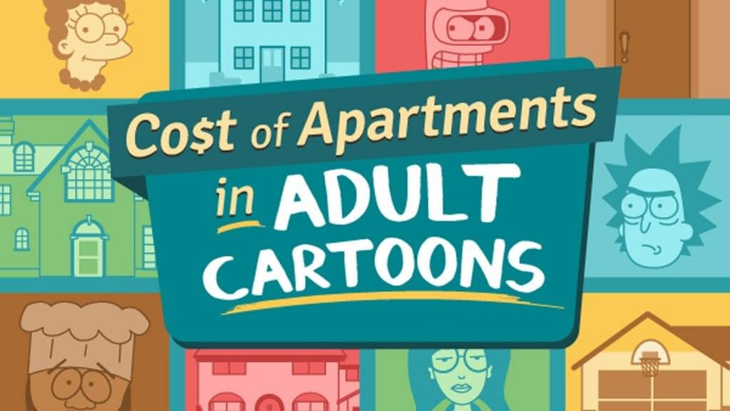 The Cost of Apartments in Adult Cartoons image