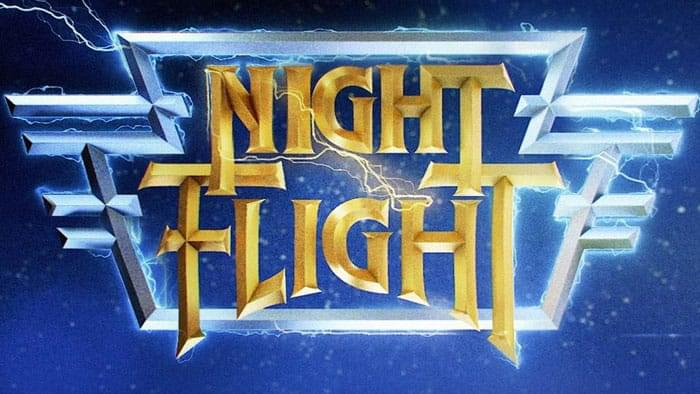 Night Flight is Back! Set Your VCR to Rewind on 4/20 image