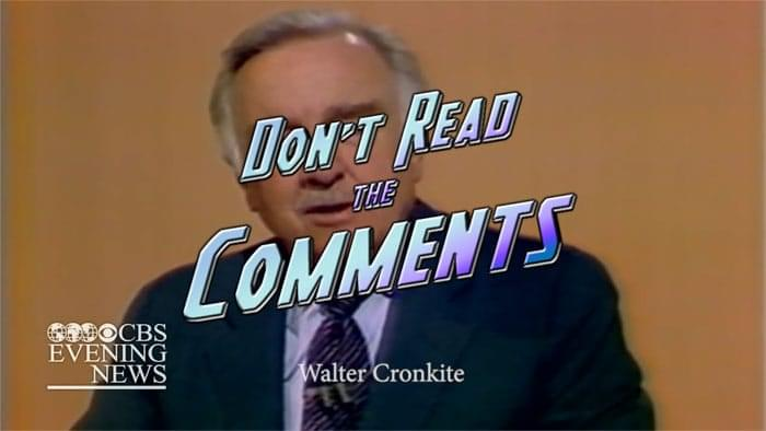 Video: A Short Film About Your Comments image