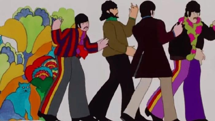 The Beatles' Yellow Submarine Surfaces in 4K and 5.1 image
