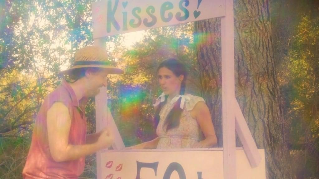 Swamp Women Kissing Booth image