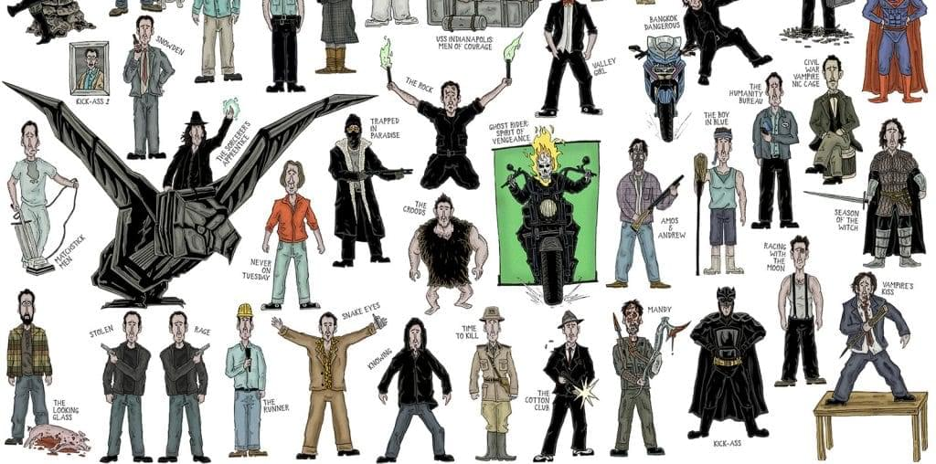 Every Character Nicolas Cage Ever Played image