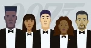 Americans Open To A Black James Bond Image
