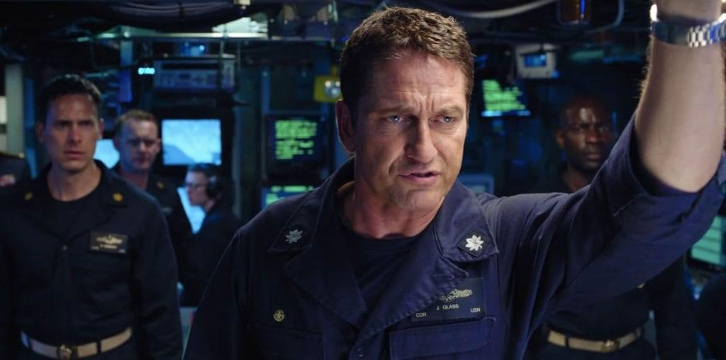 Gerard Butler Busts Out in Hunter Killer image