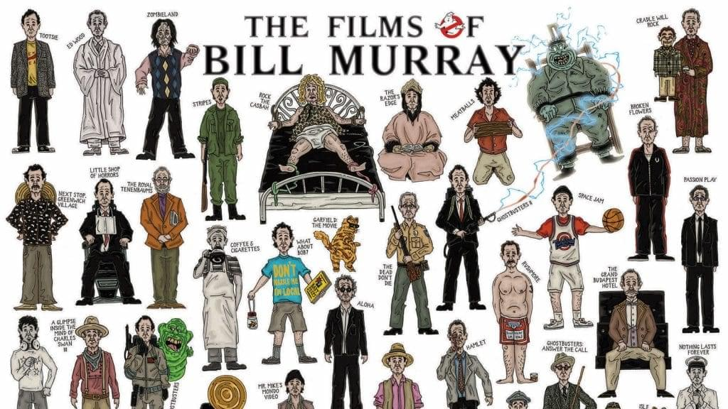 Every Bill Murray Movie Ever image