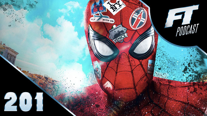 Spider-Man Far From Home Spoiler Review Podcast image