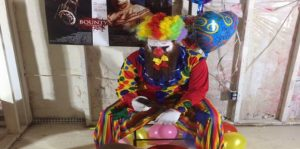 8 Ball Clown Image