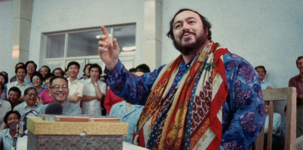 Distant Harmony: Pavarotti in China image