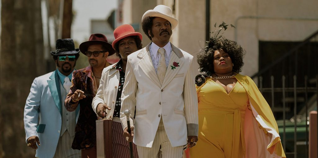 Eddie Murphy Takes on Rudy Ray Moore in Dolemite Is My Name – TIFF 2019 image