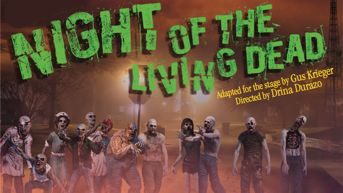 George Romero's Night of the Living Dead Stalks The Stage image