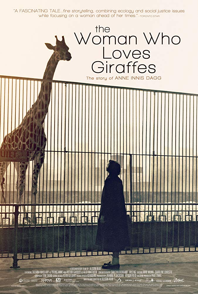 The Woman Who Loves Giraffes Image
