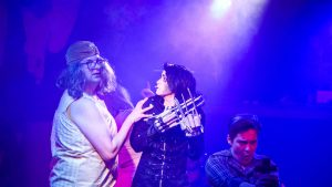 Scissorhands Comes to the LA Rockwell Image