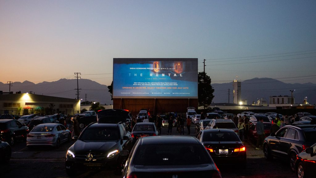 The Rental Drive-In Premiere Under the Stars image