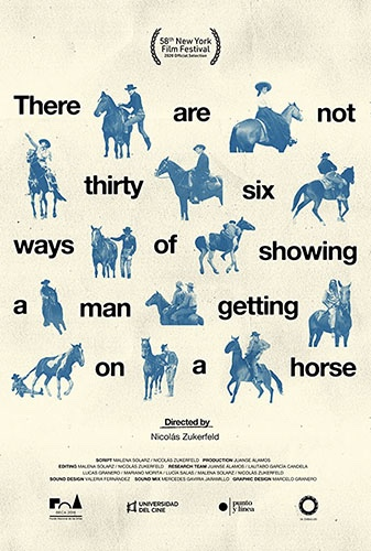 There Are Not Thirty-six Ways of Showing a Man Getting on a Horse  Image