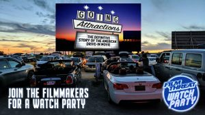 Halloween Watch Party for Going Attractions: The Definitive Story of the American Drive-in Movie Image