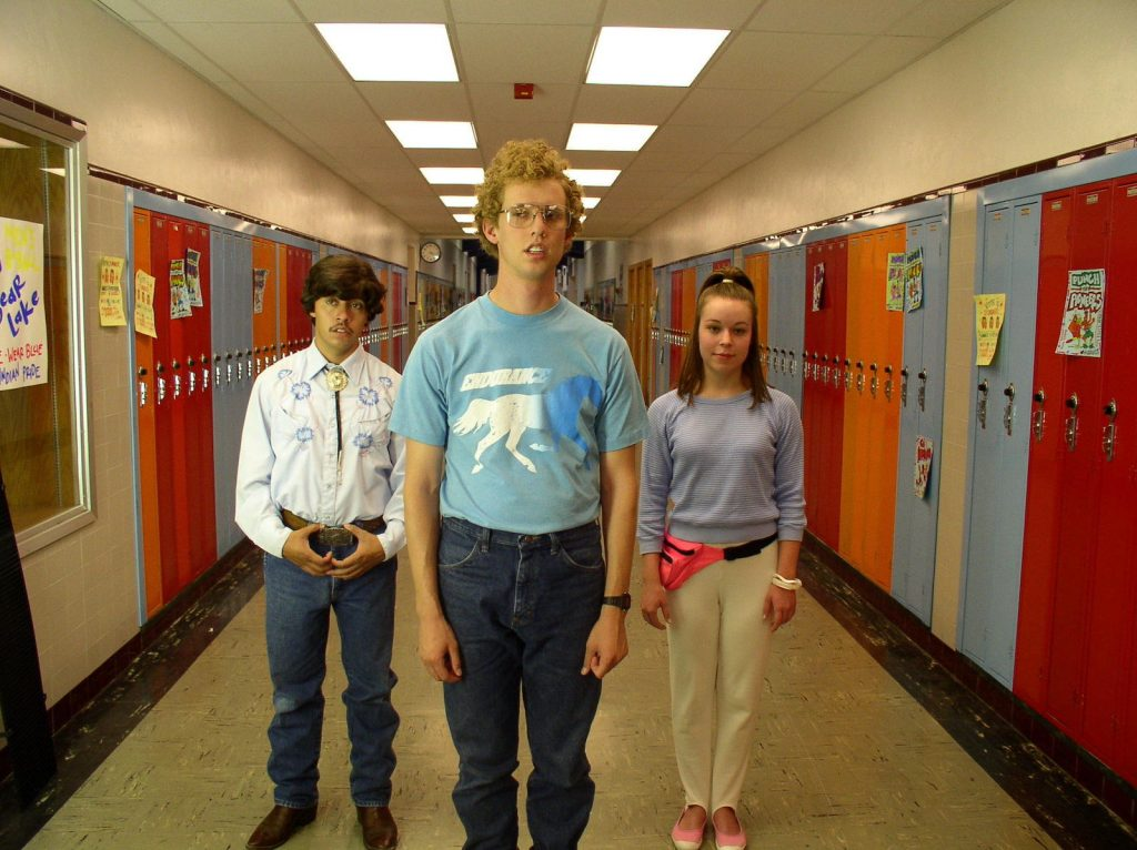 "The Cast of Napoleon Dynamite on Reunites on YouTube for ""Cyber Dynamite"" Image"
