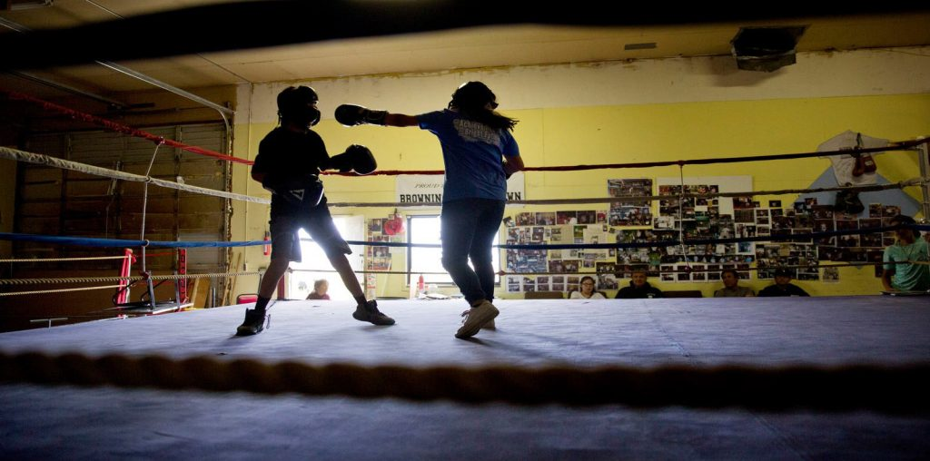 Black Feet Boxing: Not Invisible image