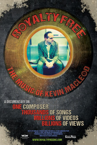 Royalty Free: The Music of Kevin MacLeod Image