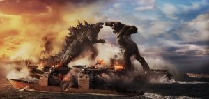 Let the Battle Begin! Godzilla vs. Kong Trailer Debut Image