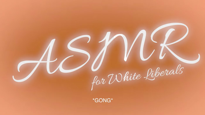 ASMR For White Liberals Image