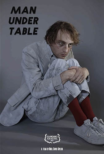 Man Under Table Image