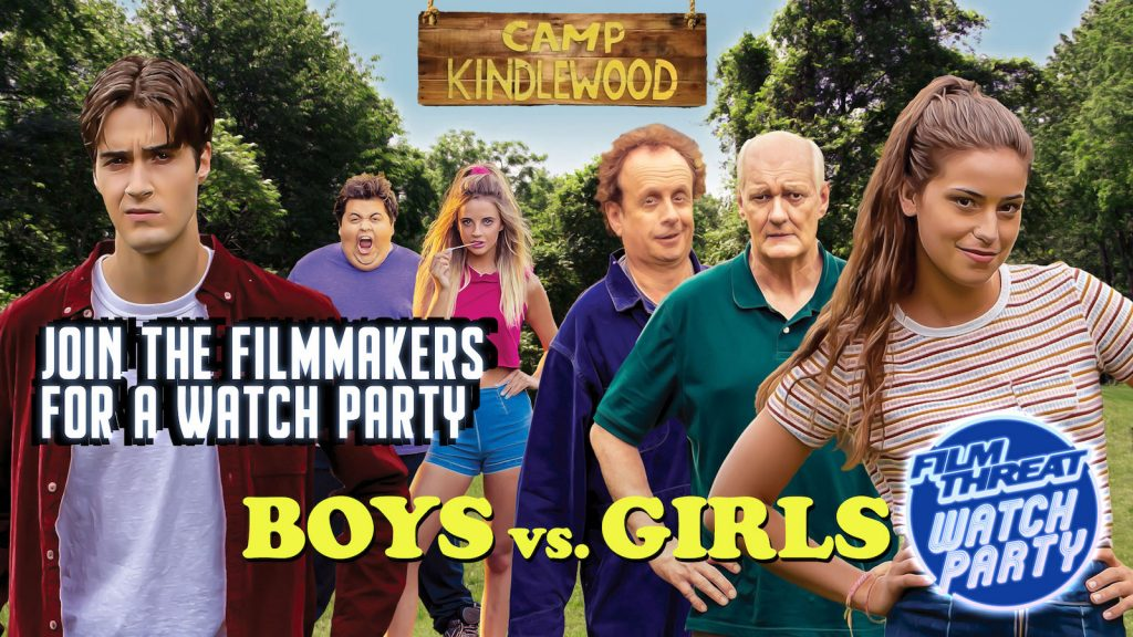 Indie Comedy Boys VS Girls Film Threat Watch Party image