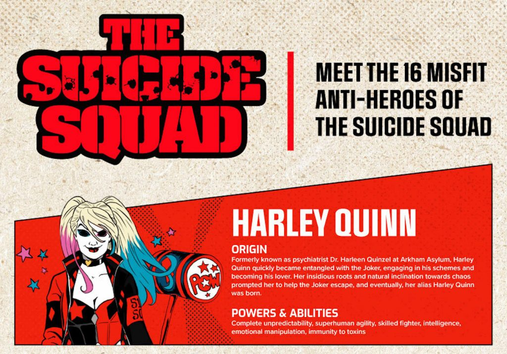 The Suicide Squad: Meet the 16 Misfit Members of Task Force X image