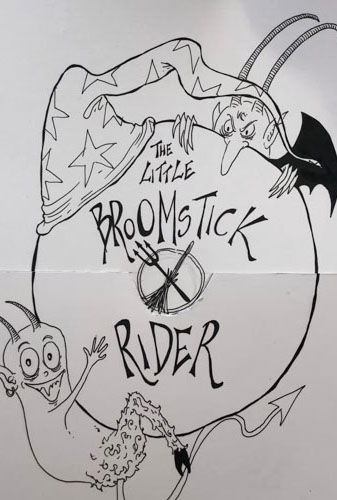 The Little Broomstick Rider Image